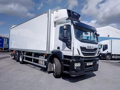 Carrier Transicold Selected as Sole Supplier for Riverside Truck Rental's All New Refrigerated Fleet