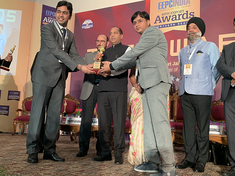 LU-VE: Spirotech wins award as one of the best exporting companies in India